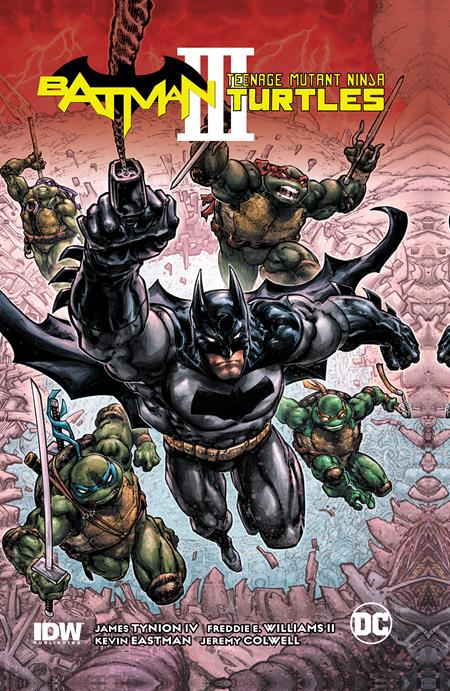 Batman Teenage Mutant Ninja Turtles III TRADE PAPERBACK