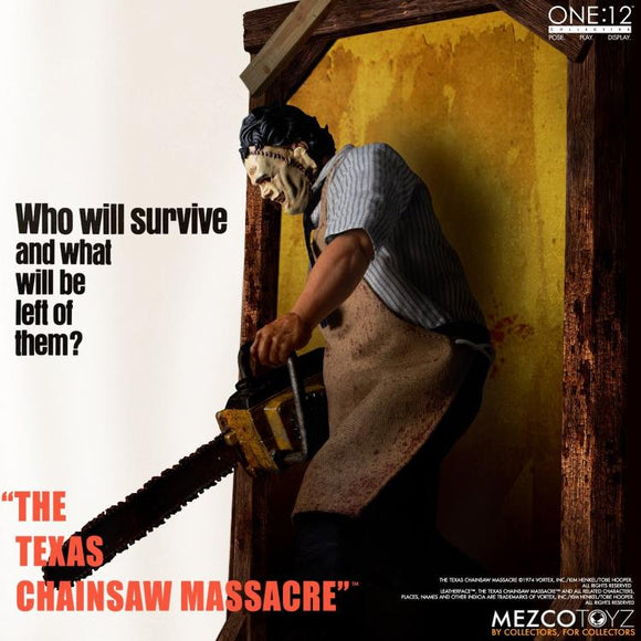 The Texas Chainsaw Massacre - Leatherface Deluxe One:12 Collective Action Figure