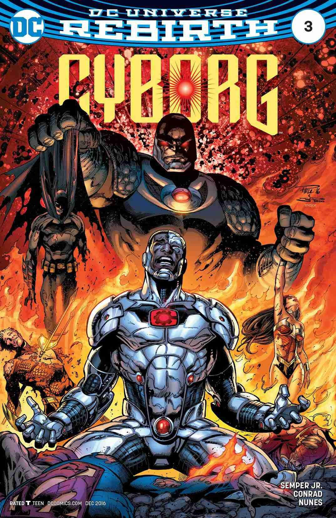 Cyborg (2016-) #3 - Comics n Pop - Comic - DC Comics