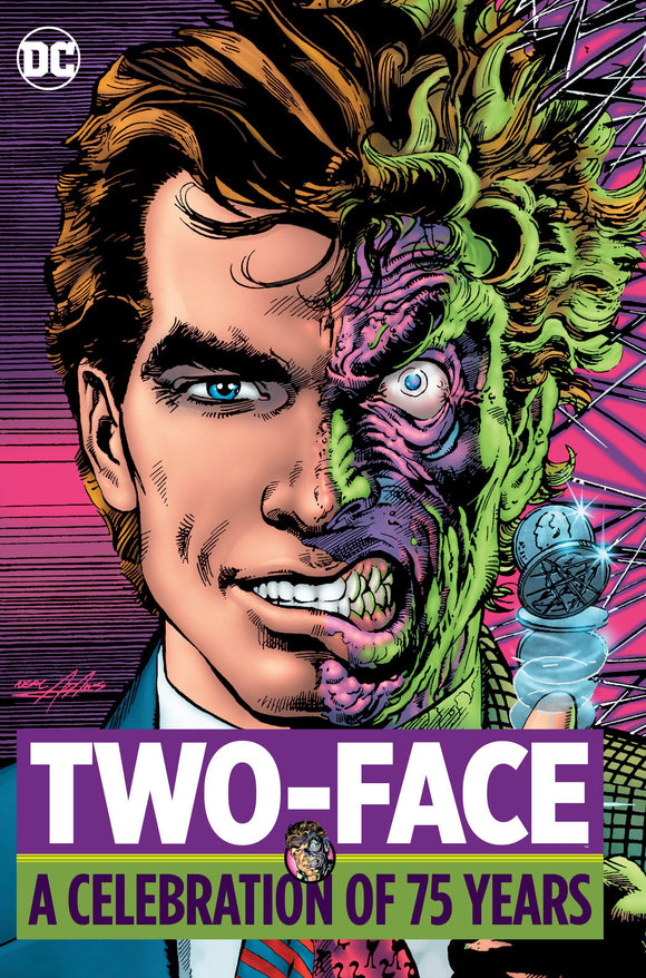 TWO FACE A CELEBRATION OF 75 YEARS HC - Comics n Pop
