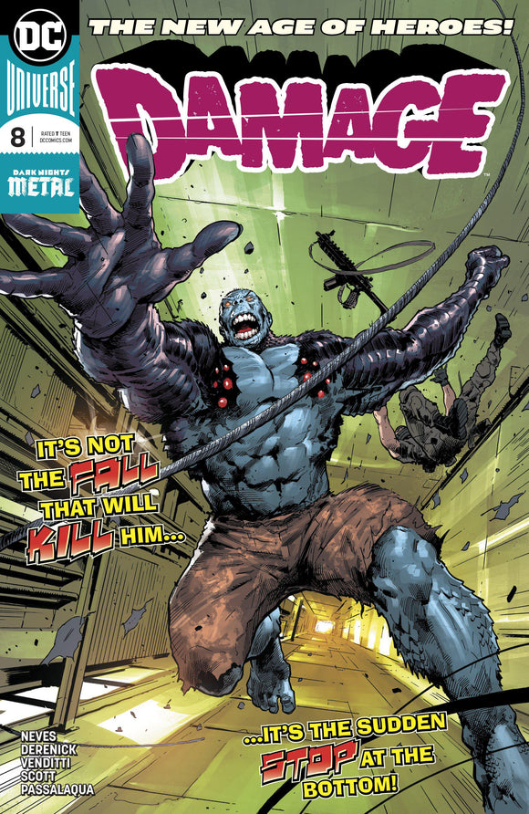 DAMAGE #8 - Comics n Pop
