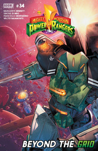MIGHTY MORPHIN POWER RANGERS #34 MAIN - Comics n Pop