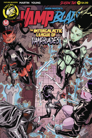 VAMPBLADE SEASON TWO #11 CVR A WINSTON YOUNG