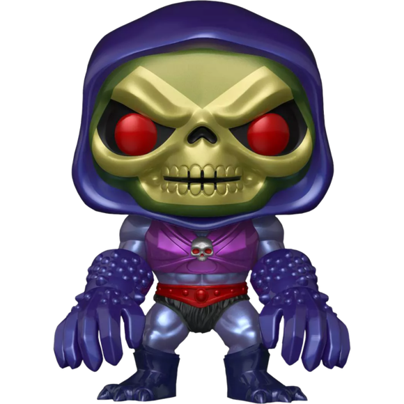 Masters of the Universe - Skeletor with Terror Claws Metallic Exclusive Pop! Vinyl