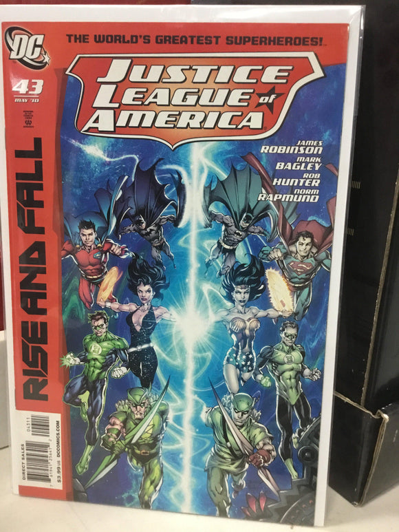 JUSTICE LEAGUE OF AMERICA #43 (2010) - Comics n Pop