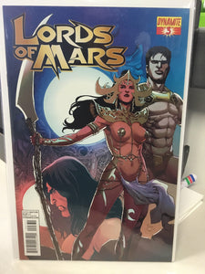 LORDS OF MARS #3 (2013) COVER C - Comics n Pop