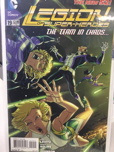 LEGION OF SUPER-HEROES #19 (2013) - Comics n Pop