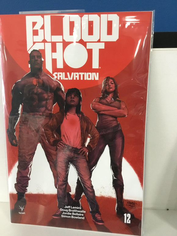 BLOODSHOT SALVATION #12 (2018) CVR B
