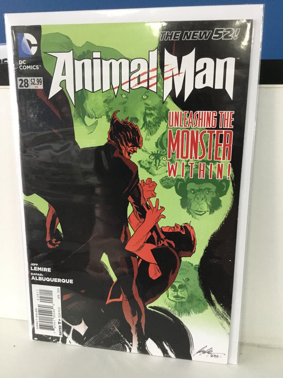 ANIMAL MAN #28 (2014) - Comics n Pop