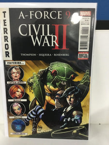 CIVIL WAR II A-FORCE #9 (2016)