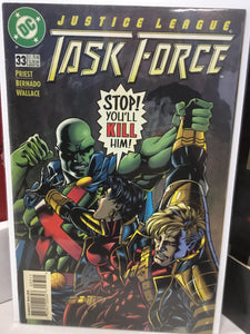 JUSTICE LEAGUE TASK FORCE #33 (1996) - Comics n Pop