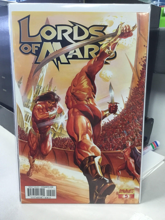 LORDS OF MARS #5 (2013)