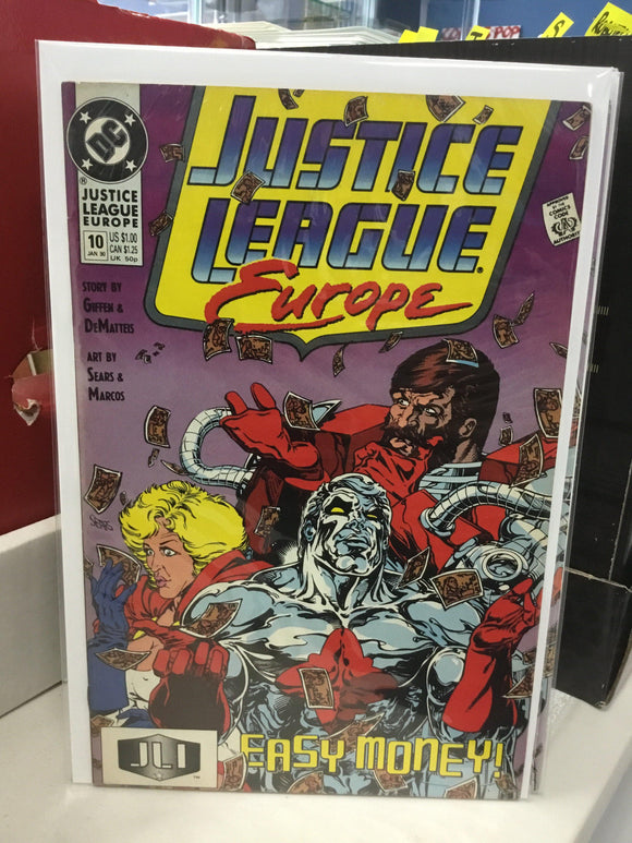 JUSTICE LEAGUE EUROPE #10 (1990) - Comics n Pop