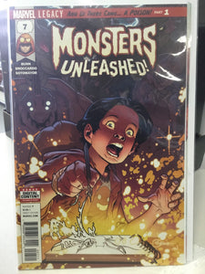 MONSTERS UNLEASHED #7 (2017) - Comics n Pop