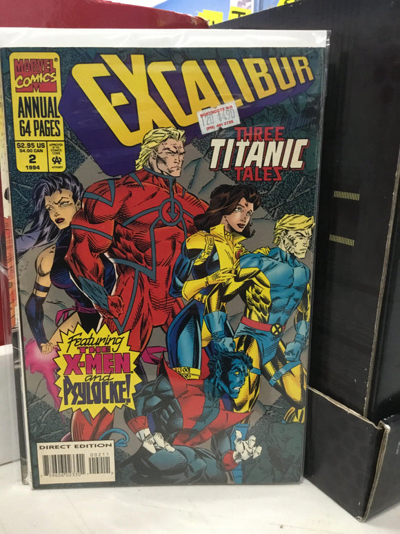 EXCALIBUR ANNUAL #2 (1994) - Comics n Pop
