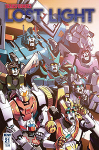 TRANSFORMERS LOST LIGHT #21 CVR A LAWRENCE - Comics n Pop