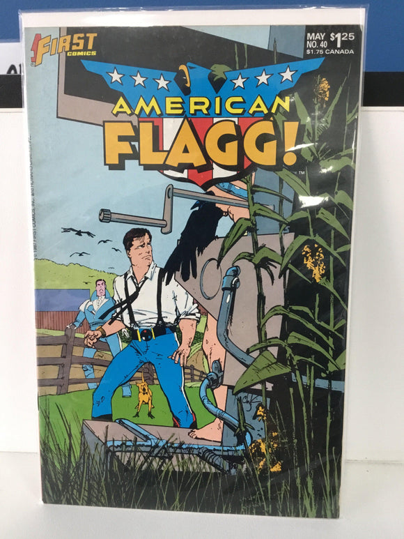 AMERICAN FLAGG #40 (1989) - Comics n Pop