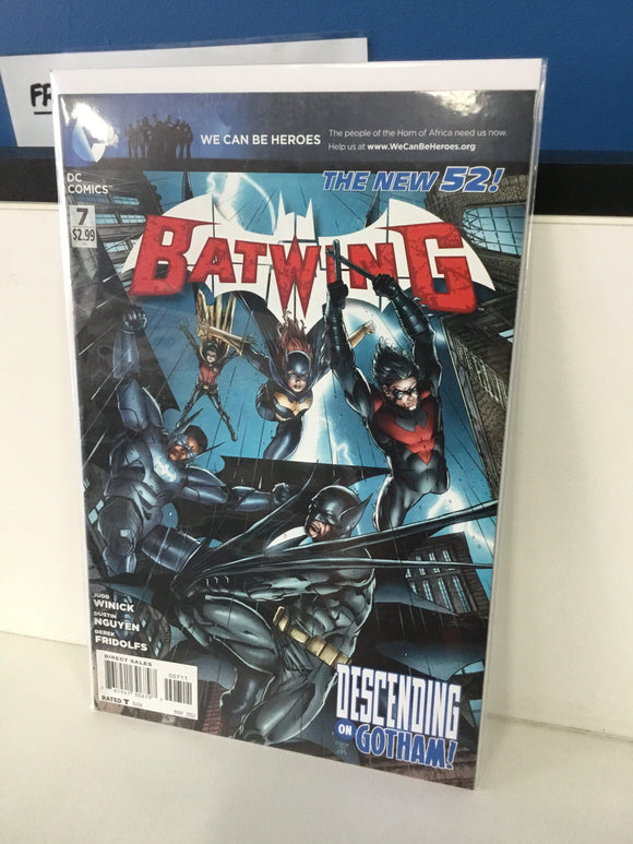 BATWING #7 (2012) - Comics n Pop