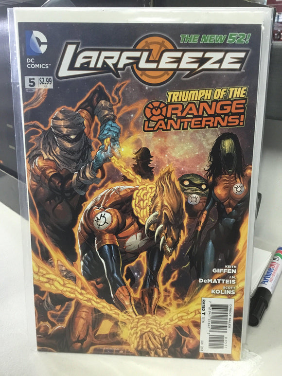 LARFLEEZE #5 (2014) - Comics n Pop