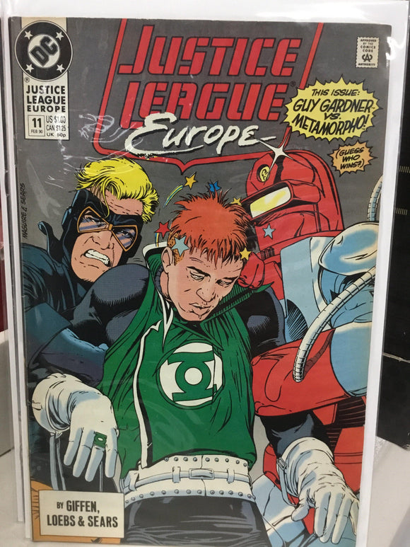 JUSTICE LEAGUE EUROPE #11 (1990) - Comics n Pop