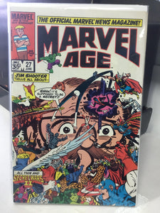 MARVEL AGE #27 (1985) - Comics n Pop