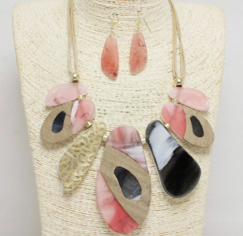 """Morocco""  Necklace Set"