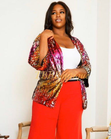 """SABELLA"" Sequin Jacket"