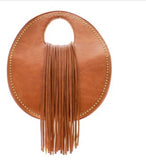 Mini Studded Fringe Handbag