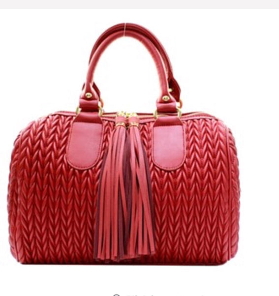 Tasseled Love Handbag