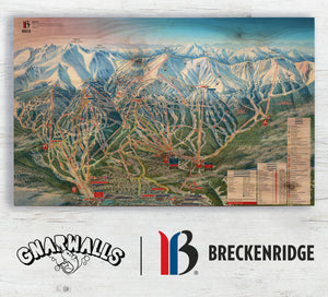 Breckenridge Unleashes Their New Trail Map for Opening Day