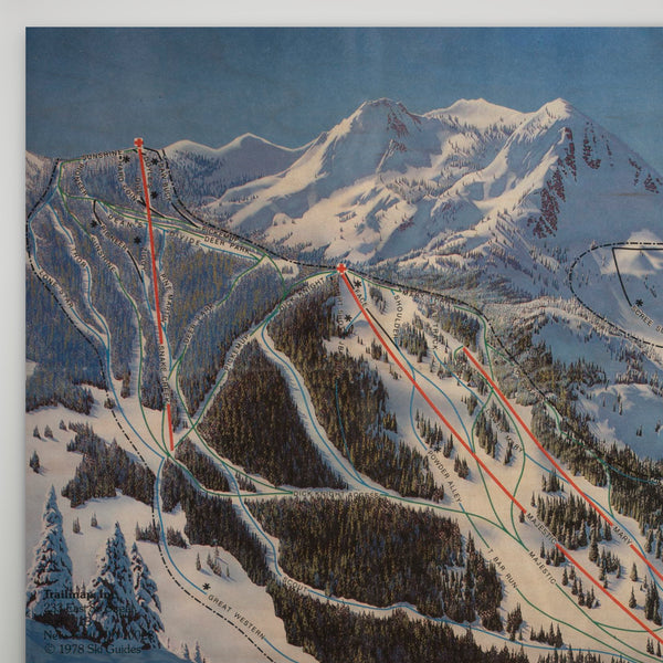 Brighton Resort Map 1985