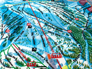 Grand Targhee Resort Map
