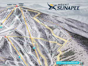 Mount Sunapee Resort Map