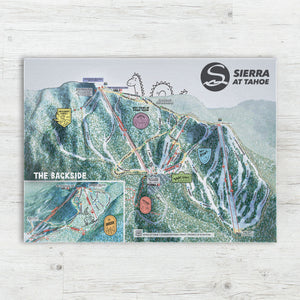 Sierra at Tahoe Resort Map