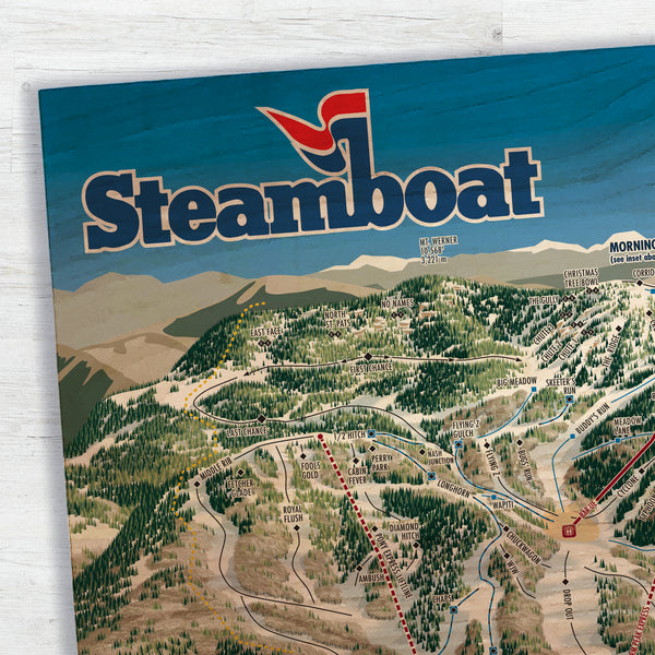 Steamboat Resort Map