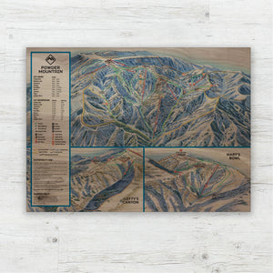 Powder Mountain Resort Map