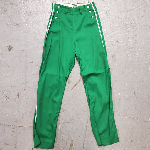 RARE Vintage 1940s 1950s MAPLE MFG CO Double Button Sailor Style Athletic Baseball Pants