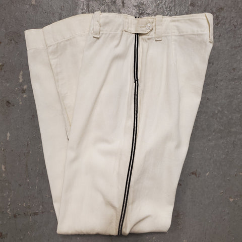 RARE Vintage 1940s 1950s LOU LIESE Side Taped Athletic Baseball Pants