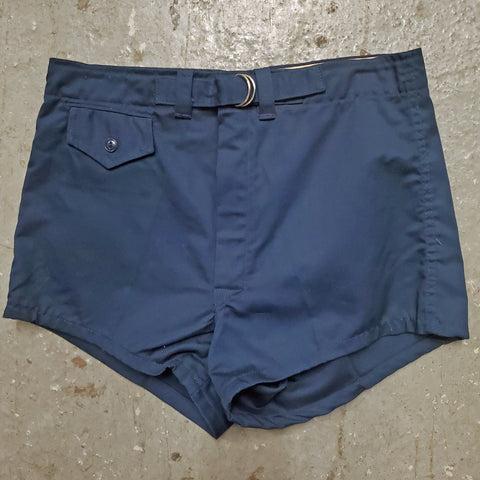Vintage 1960s 1970s DETROIT KNITTING MILLS NOS Athletic D-Ring Waist Short Shorts