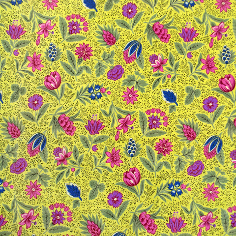 RARE Vintage 1920s Ditsy Floral Cotton Chintz Fabric Yardage (1 Yard)