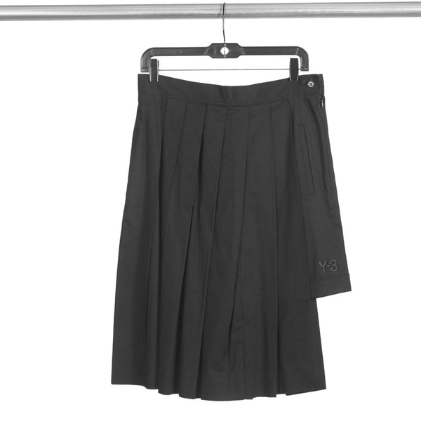 RARE Vintage 2000s Y-3 YAMAMOTO Pleated Skirt + Shorts Combination