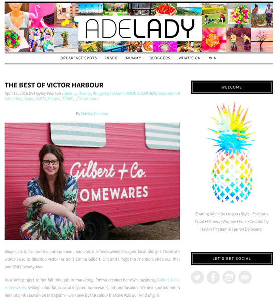 Adelady showcases the best of Victor Harbor... and we're in it!