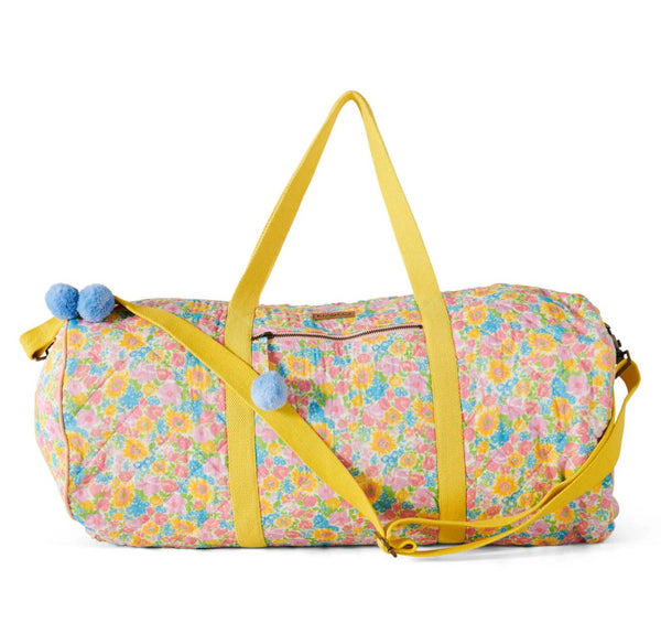 SUMMER POLLEN QUILTED DUFFLE BAG