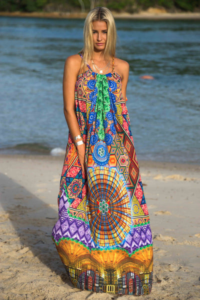 Congo Halter Dress