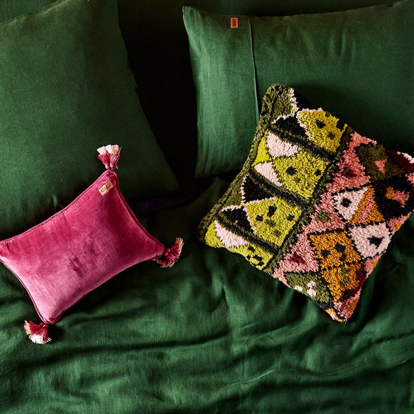 NOMAD SHAG CUSHION COVER