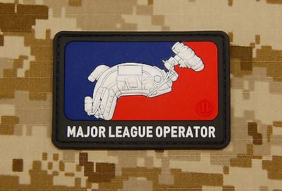 Campground Signs 3D PVC Morale Patch Set