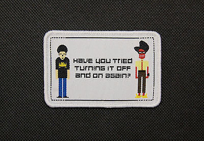 The IT Crowd Woven Morale Patch
