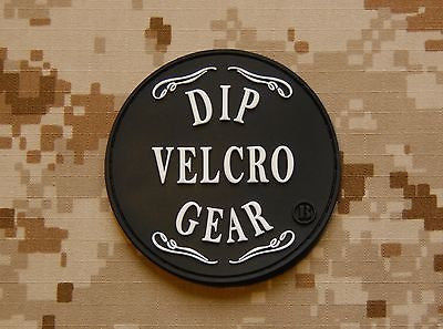 Dip Velcro Gear 3D PVC Morale Patch