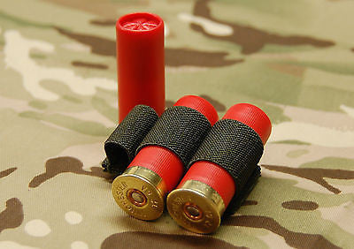 3-Cell Chemlight / Shotgun Shell / CR123 Battery Holder - OD