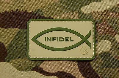 Major League Operator 3D PVC Morale Patch